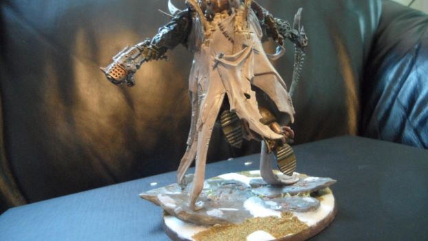 Mortarion, Daemon Primarch of Nurgle back side by Dible
