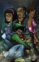 African American Scooby Doo by anubis2kx