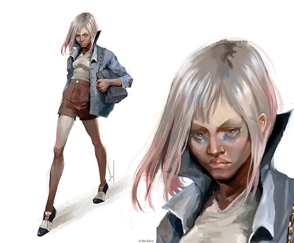 Lighting study IV by SolDevia