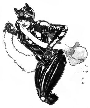 Catwoman by ThomasBlakeArtist