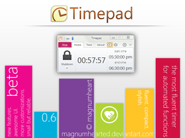 Timepad by MAGNUMHEARTED