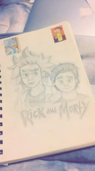 Rick and Morty by brenna44