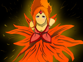 The Girl on Fire (Adventure Time) :FINAL: by Spencer-Bowen