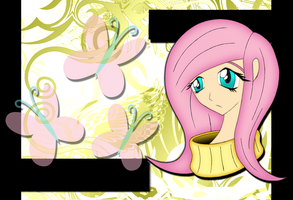 Fluttershy Wallpaper by TheDrifter777