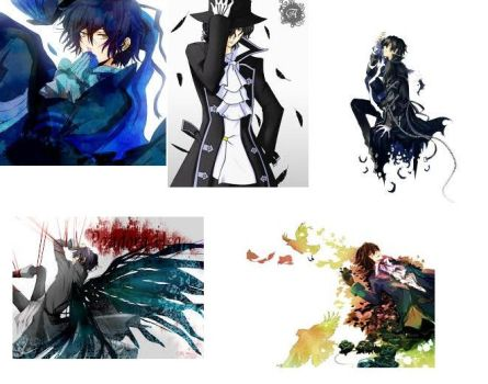 Pandora Hearts~ Gilbert Nightrays~! :giggle: by popepi11