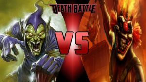 Green Goblin vs Sweet Tooth by Dynamo1212