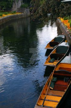 Boats in Canterbury by theCompassRose