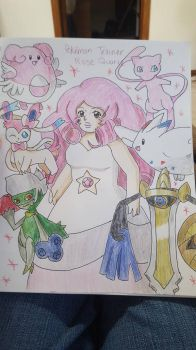 Pokemon Trainer Rose Quartz by MitsukiChan313