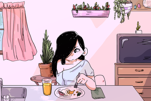 Breakfast by Artist-squared