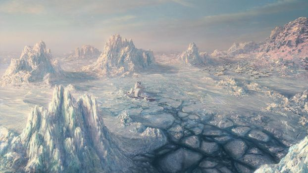 Environment: ICE SCAPE by inetgrafx