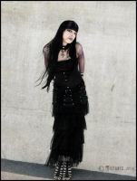 gothic lady by mistabys