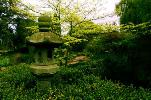 Japanese Garden by Teakster