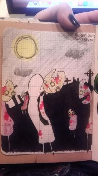 Traveling Sketchbook Submission 3 by TottyRen