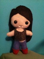 Marceline the Vampire Queen Doll by Xiao-Yang