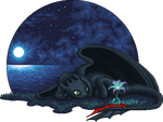 Toothless by GuardianOfShigeru
