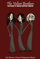 The Volturi Brothers by sunni-sideup