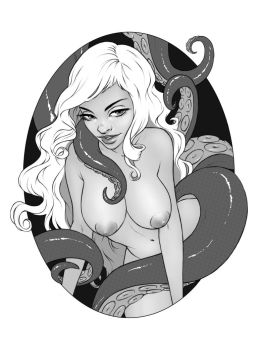 boobs and tentacles by DanielaUhlig