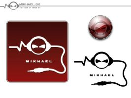 Dj Mikhael Logo Design by CharlieGraphics