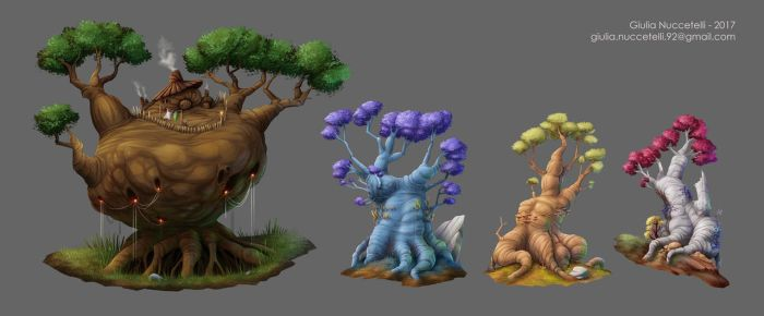 Trees by Spighy