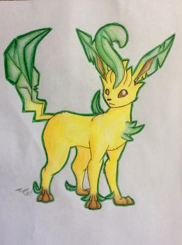 Leafeon by Tiger1609