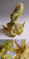 Blue-ringed Octopus by FamiliarOddlings
