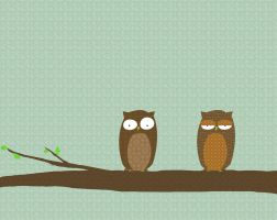 Owl Suprise Patterns by surlana