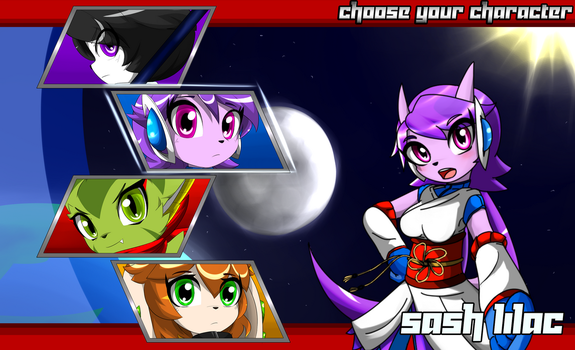 FP2 Classic characters selection screen by KenjiKanzaki05