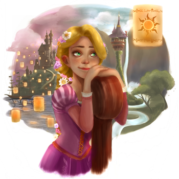 Rapunzel by livemotion