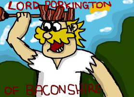 Lord Porkington Of Baconshire KFK by RayForAwesome