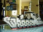 lego destroyer bow by Denodon