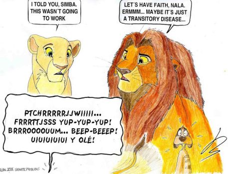 Genetic problems by Alan-the-leopard