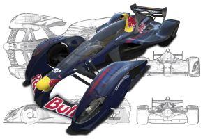 GT5 Poster Red Bull X2010 X-Mas Gift by JanD