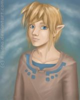 Skyward Sword Link by Filiana