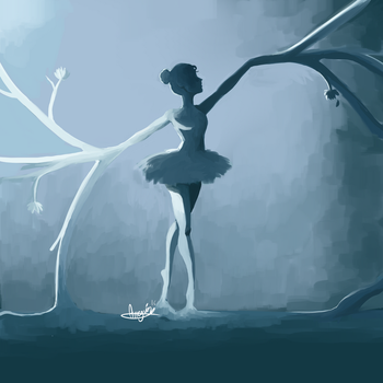 Ballerina by Snowflake-owl