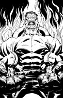 Hulk 1 Cover by DexterVines