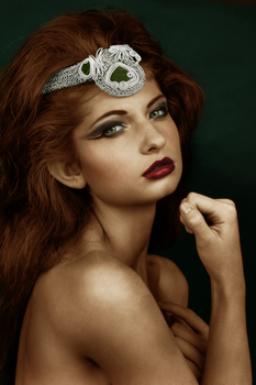 colourization: warrior. by pinklucozade