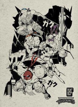 tmnt CLR by beatboxsamurai