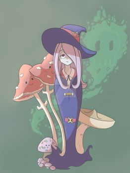 LWA Fan Art Sucy by TheenyThoos