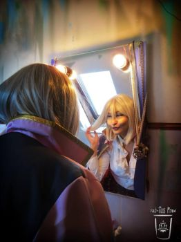 Howl's Moving Castle - Female Hauru bathroom by Spinelie