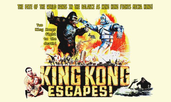 King Kong Escapes by Spitfire666xXxXx