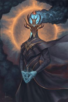 Khuldius - The Shadow of Death by ninovecia