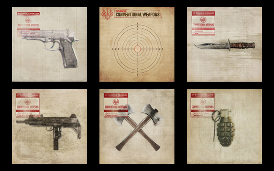 Conventional Weapons Desktop by doberman211
