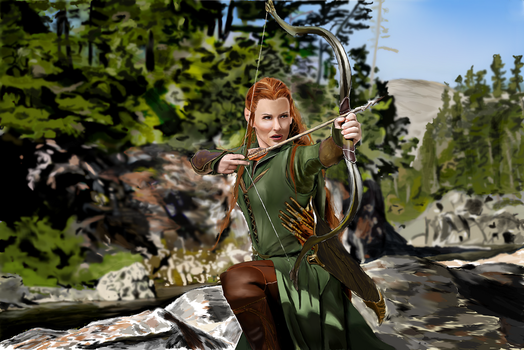 Tauriel by marvellous-monkey