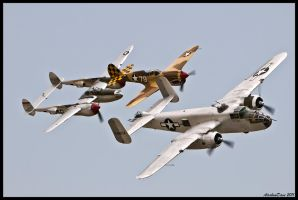 Planes of Fame 2011 by AirshowDave