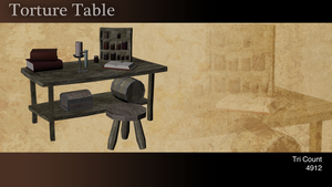 Low Poly Table by Natewich4lunch