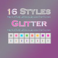 + 16 Styles Glitter. by NiickiithaEditions