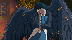 Howl and Sophie by frozen--phoenix