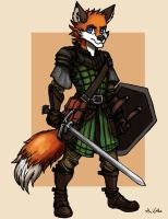 Fox Fighter - 01 by TheLivingShadow