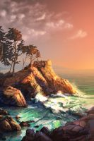 Point Lobos by chateaugrief