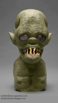 Goblin Bust by Mick2006